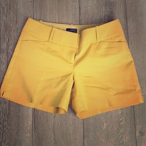 The limited mustard shorts